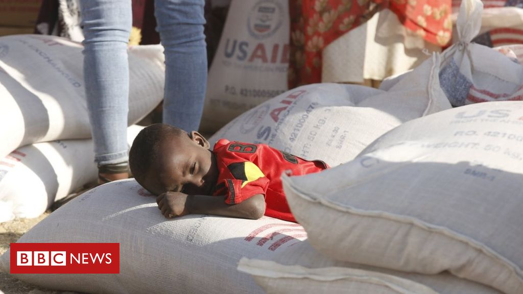 Ethiopia Tigray: UN aid chief says there is famine