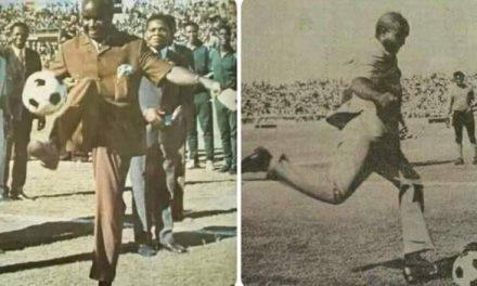 Kenneth Kaunda the sport-loving president