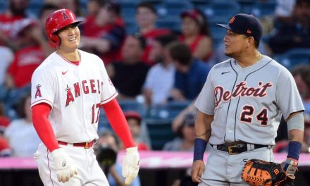 Shohei Ohtani earns third win of year in latest two-way start