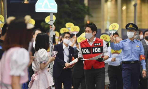 Tokyo reports 376 new COVID-19 cases on Sunday