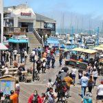 An earthquake in Kobe speaks to a sea wall in San Francisco