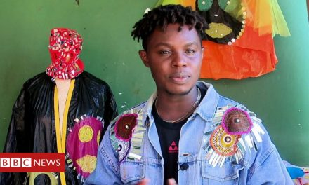Ghana fashion: Designer clothes made from waste