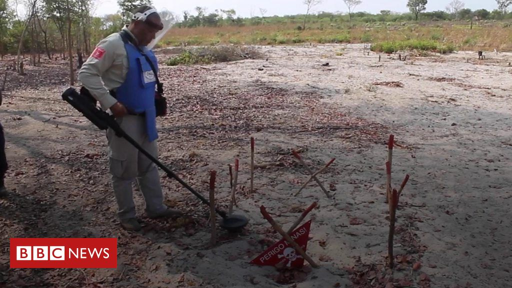 Angola's landmines: How drones, lasers and thermal technology can help