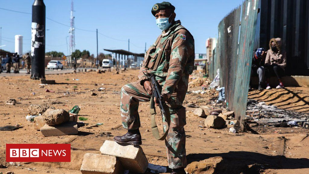 South Africa Zuma riots: Fact-checking claims about the protests