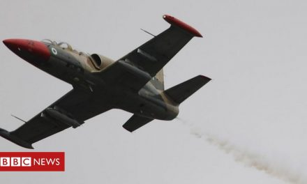 Nigeria fighter plane shot down by bandits – military