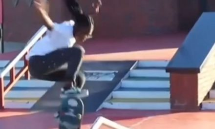 15-year-old skateboarder Boipelo Awuah is the youngest African at Tokyo 2020.