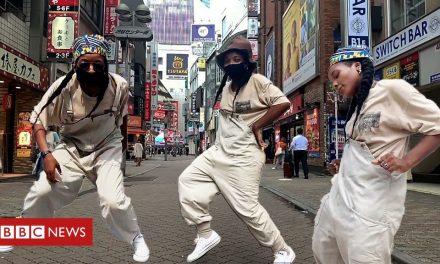 Afrobeats in Japan: British-Nigerian hip hop dancer teaching children how to dance