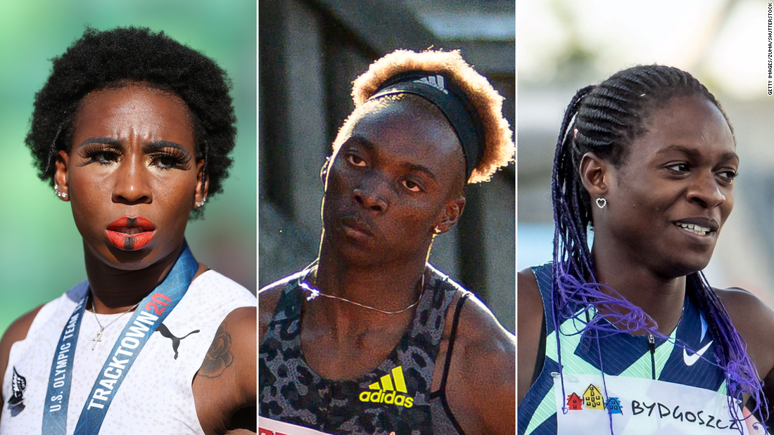 How Black women athletes are being scrutinized ahead of the Olympics despite their successes