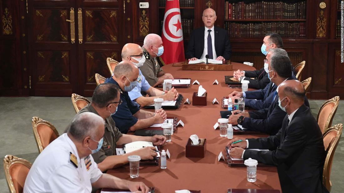 Tunisia political turmoil deepens as President sacks prime minister, freezes parliament
