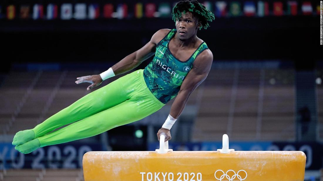 Uche Eke becomes first gymnast to compete for Nigeria at the Olympics