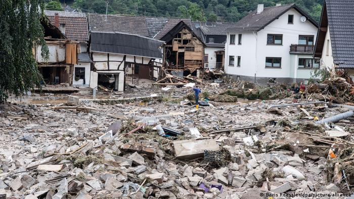 Deadly flood hits Western Germany; over 81 people dead
