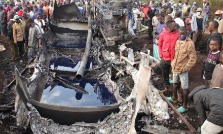 Tanker explosion kills at least 13 people in Kenya