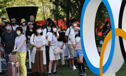 Tokyo reports 1,979 new COVID-19 cases one day before Olympics kick off