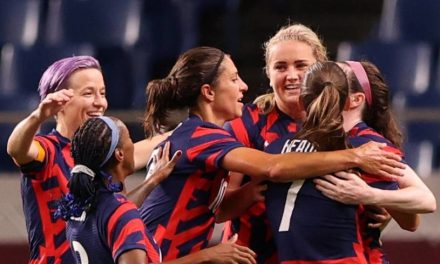 U.S. women overwhelm New Zealand to earn first victory at Tokyo Games