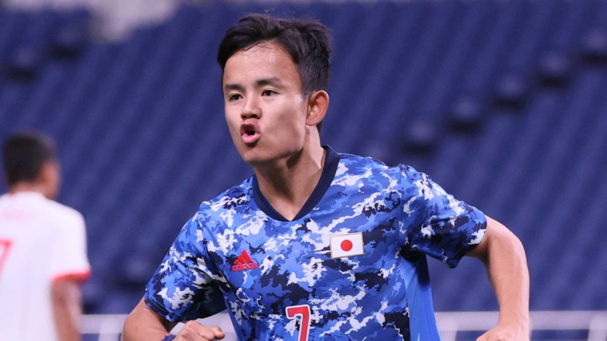 Japan takes Group A lead after downing Mexico with early burst