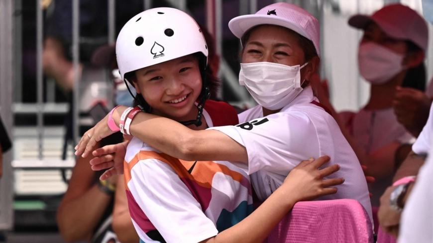 13-year-old Momiji Nishiya becomes Japan's youngest Olympic champion
