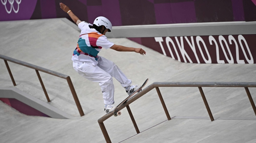 Japan scoops up more golds as locals warm to the Games