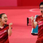 Jun Mizutani and Mima Ito win Japan's first Olympic gold in table tennis