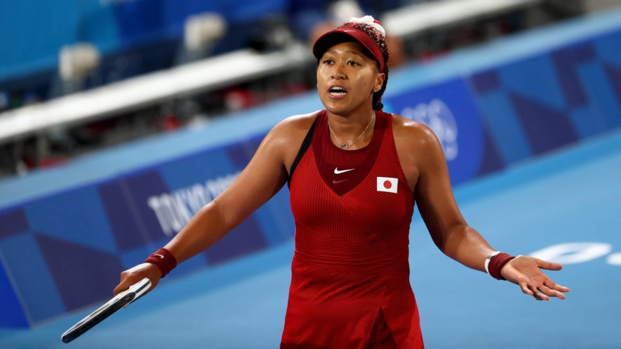 Naomi Osaka out of Tokyo Olympics in shock third-round defeat