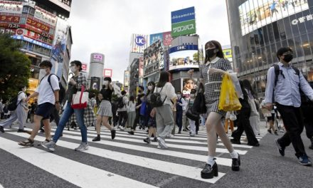 A tale of two cities: In the 'bubble' and the Tokyo outside