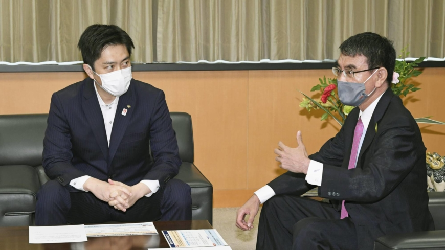 Japan's metropolises urge government to prioritize vaccines for large cities