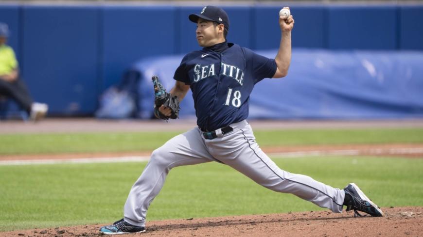 Yusei Kikuchi holds down Blue Jays to earn sixth win