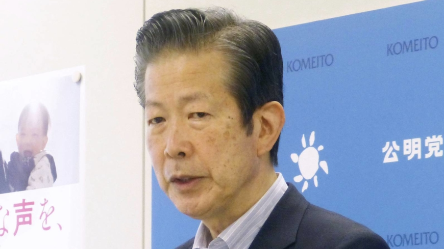 LDP irked as head of Komeito comments on leadership race