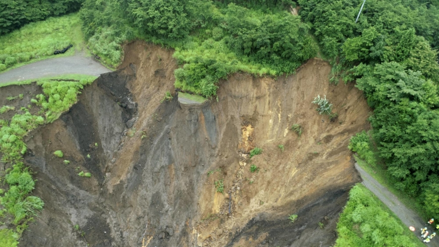 Inappropriate land-raising work possibly behind Atami mudslide
