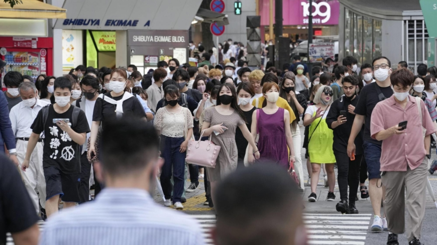 Tokyo logs 1,308 new COVID-19 cases, topping 1,000 for second day