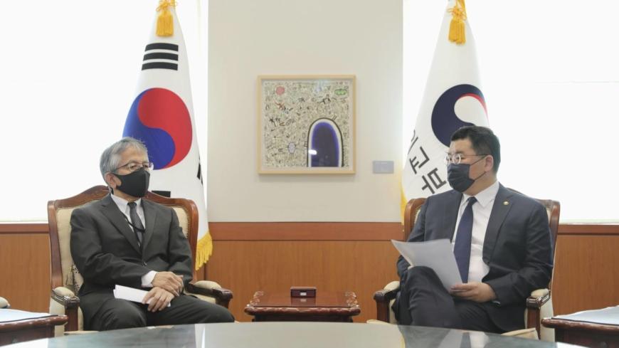 Japan's ambassador to South Korea reprimands deputy for improper remark