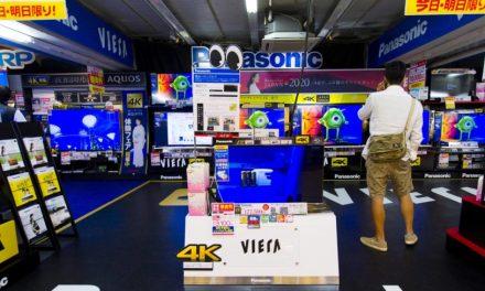 Sales of big screen TVs surge in Japan ahead of Tokyo Games