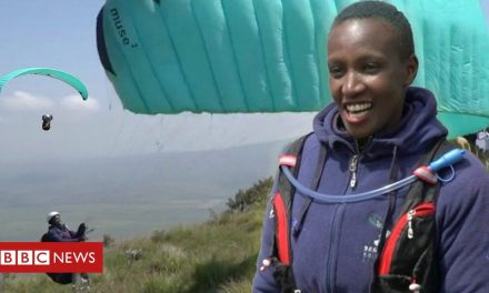 Kenya's first female paraglider on life from a bird's eye view
