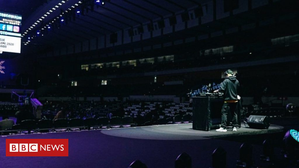 Tokyo 2020: The Olympic DJs playing in empty stadiums