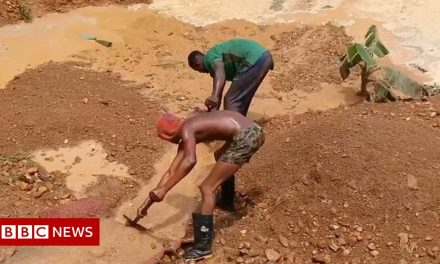 The illegal gold mines killing rivers and livelihoods in Ghana