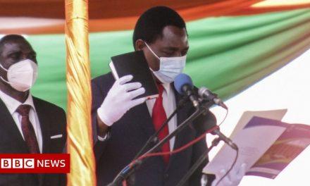 Zambia President Hakainde Hichilema: No-one should go to bed hungry
