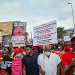 Ghanaians call for their country to be fixed with a street protest