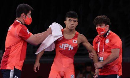 Japan's Kenichiro Fumita wins Greco-Roman 60 kg silver at Tokyo Games