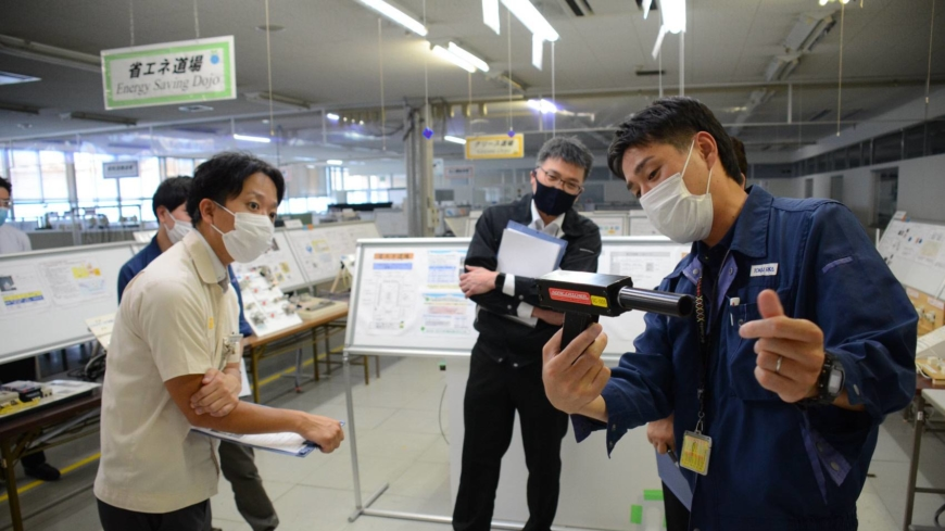 Aichi auto parts supplier helps smaller firms in supply chain go carbon neutral