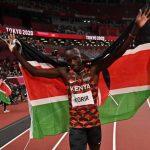Kenya's Emmanuel Korir wins gold in men's 800m final