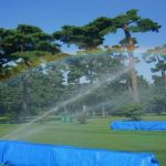 Approaching storm could reduce Olympic women's golf to 54 holes