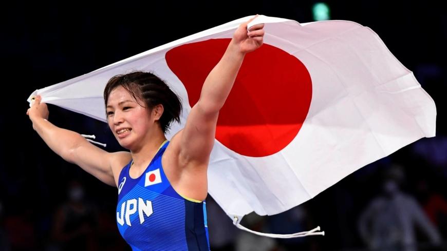 Yukako Kawai wins Japan's first wrestling gold of Tokyo Olympics