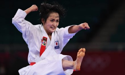 'Queens of kata' vying for gold as they kick off karate's Olympics debut