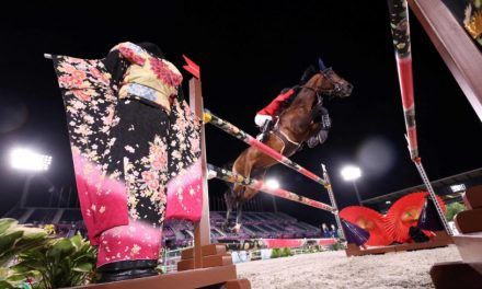 Born to ride: Jessica Springsteen wins Olympic team equestrian silver