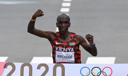Kenya's Eliud Kipchoge retains men's Olympic marathon title