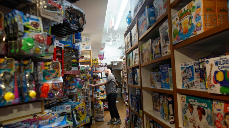 Global supply snags could mean fewer toys under the Christmas tree