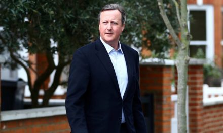 What's an ex-U.K. prime minister to do?