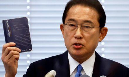LDP's Fumio Kishida proposes huge economic stimulus