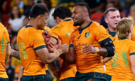 Rugby Championship: Australia beat South Africa 30-17 in Brisbane