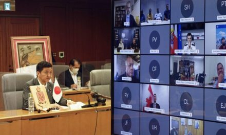 Japan and Pacific nations vow to tighten defense ties for maritime order