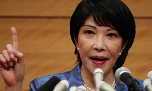 Japan takes step toward first female leader as two women run